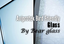 Aviprotek Bird Friendly Glass