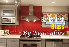 Backsplash Painted Glass