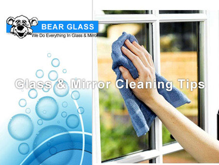 glass and mirror cleaning