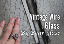 Vintage Wire Glass